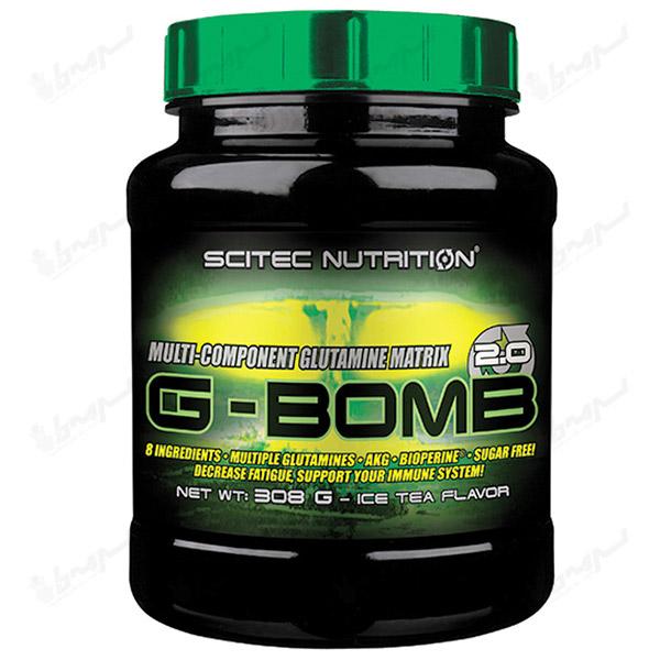 گلوتامین جی-بمب 2.0 سایتک نوتریشن | 500 گرمی