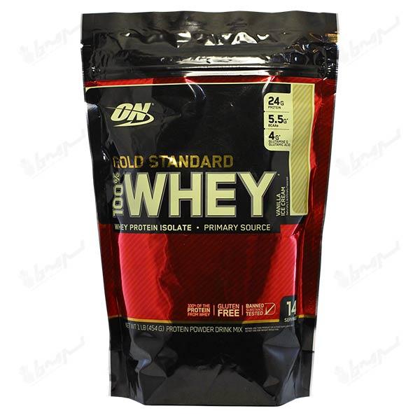پروتئین وی گلد استاندارد 100% اپتیموم نوتریشن | 454 گرم