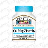 قرص کلسیم منیزیم زینک و ویتامین دی 21 سنتری | 90 عدد