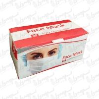ماسک تنفسی سه لایه یکبار مصرف 50 عددی ( ماسک دولتی )