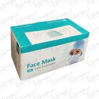 ماسک تنفسی سه لایه یکبار مصرف 50 عددی