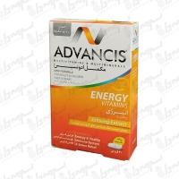 قرص انرژی ویتامینز ادونسیس   30 عدد