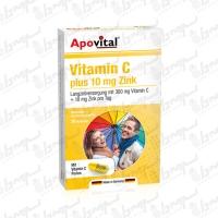 کپسول ویتامین سی و زینک آپوویتال | 30 عدد