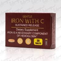 قرص آهن با ویتامین C برانسون | 30 عدد