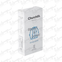 کاندوم تاخیری مضاعف خاردار مدل ROUND SEVEN چرچیلز | 12 عددی