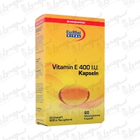 کپسول ژلاتینی ویتامین E 400 یورو ویتال | 60 عددی