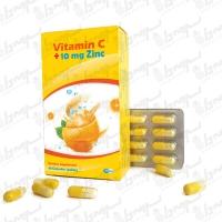 کپسول ویتامین سی و زینک اچ پی اچ | 48 عددی