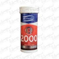 قرص جوشان ویتامین سی 2000 میلیگرم های هلث | 10 عدد