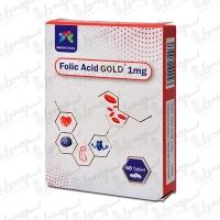 قرص فولیک اسید گلد 1 مولتی نرمال | 60 عدد