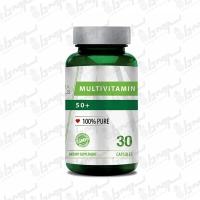 کپسول مولتی ویتامین +50 نوفرما نچرالز | 30 عدد