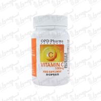 کپسول ویتامین سی 1000 میلی گرم ماکسیمم پاور او پی دی فارما | 30 عدد