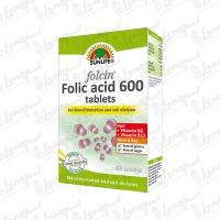 قرص فولسین فولیک اسید 600 سان لایف | 60 عددی