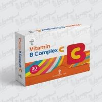 قرص ویتامین ب کمپلکس سی ویتامین لایف | 30 عدد