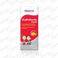 شربت مولتی ویتامین لیکوئید ویواکیدز | 200 میلی لیتر