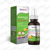 قطره مولتی ویتامین ویوا کیدز | 30 میلی لیتر