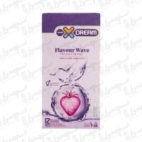کاندوم میوه ای فلیور ویو ایکس دریم | 12 عددی
