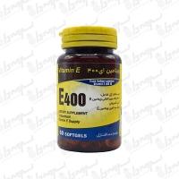 کپسول ژلاتینی ویتامین ای 400 یاس کویر میبد | 50 عدد