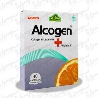 کپسول آلکوژن با ویتامین C آلفا ویتامینز   30 عدد