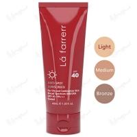 کرم ضد آفتاب و ضد لک رنگی لافارر مخصوص پوست های چرب و مستعد آکنه SPF40 لافارر