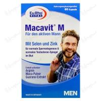 کپسول ماکاویت ام یورو ویتال | 60 عدد