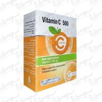 قرص جویدنی ویتامین سی 500 میلی گرم ایران دارو | 30 عدد