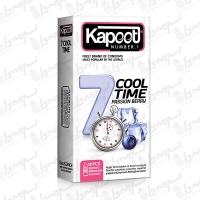 کاندوم مدل 7Cool Time کاپوت | 12 عددی