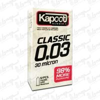 کاندوم مدل 30 Micron کاپوت | 10 عددی