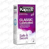 کاندوم مدل Classic Lubricated کاپوت | 12 عددی