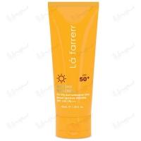 کرم ضد آفتاب و ضد لک بی رنگ مخصوص پوست چرب و مستعد آکنه +SPF50 لافارر