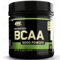 پودر آمینو اسید شاخه ای (بی سی ای ای 5000) اپتیموم نوتریشن | 345 گرم | بدون طعم