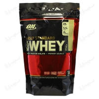 پروتئین وی گلد استاندارد 100% اپتیموم نوتریشن | 454 گرم | بستنی وانیلی