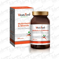 سافت ژل مولتی ویتامین و مینرال ویتالی تون | 100 عدد