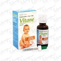 قطره مولتی ویتامین با آهن و زینک ویتان   30 میلی لیتر