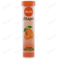 قرص جوشان مولتی ویتامین ویتاپرا | 20 عددی