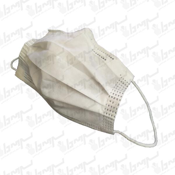 ماسک تنفسی سه لایه آنتی باکتریال یکبار مصرف 50 عددی